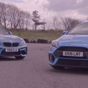 Ford Focus RS Vs BMW M2